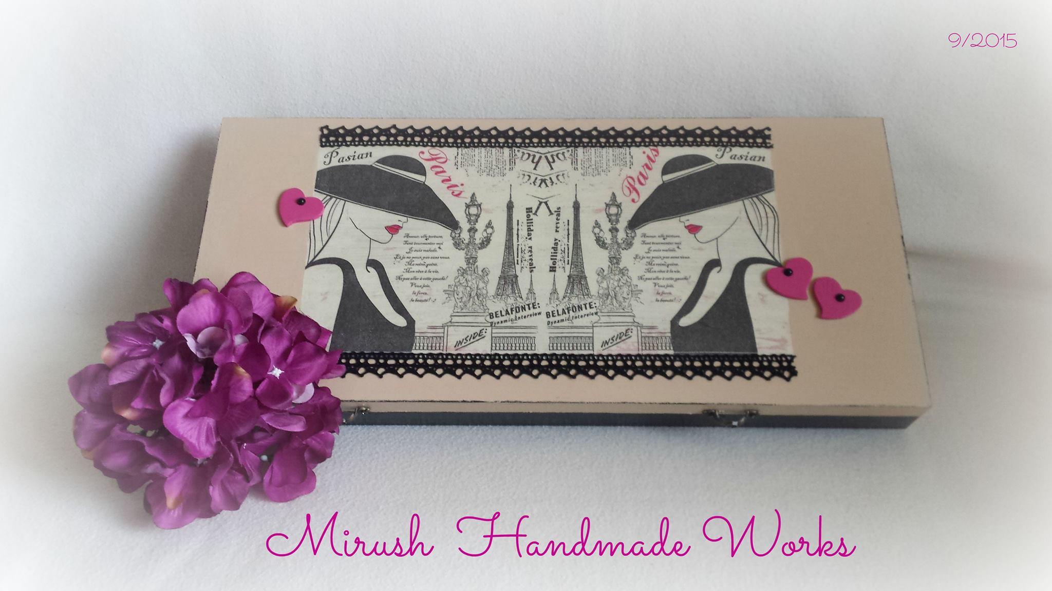 Dekupáž od Mirush Handmade Works