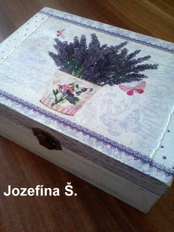 Levanduľové tvorenie - Jozefka